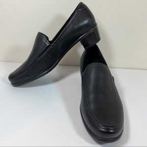 Ecco Black leather loafers